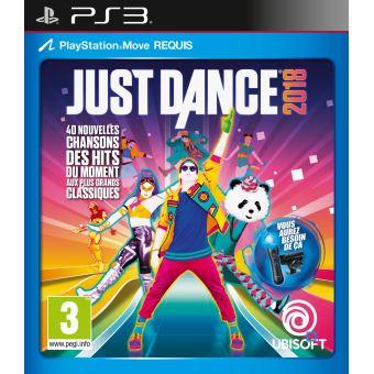 Just Dance 2018 Ps3 Jeux Video Achat Prix Fnac