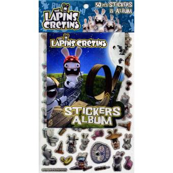 les lapins cr tins tome 3 lapin cr tin n3 50 stickers album collectif broch achat. Black Bedroom Furniture Sets. Home Design Ideas