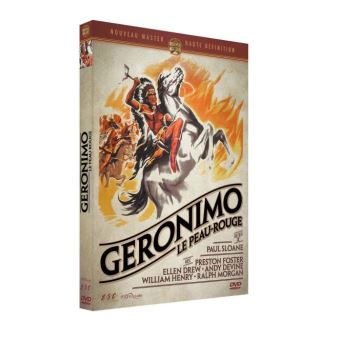 Geronimo le peau rouge DVD