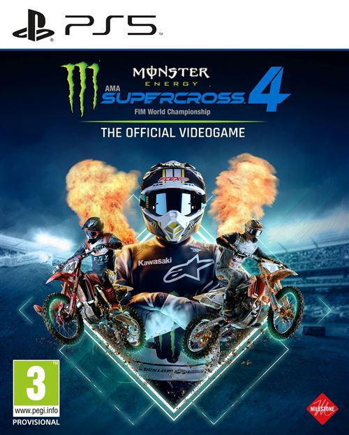 Monster Energy Supercross 4 - The official videogame PS5