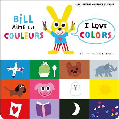 Bill aime les couleurs, I love colors