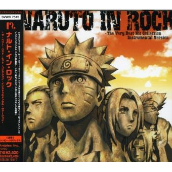 Naruto in rock the very best h