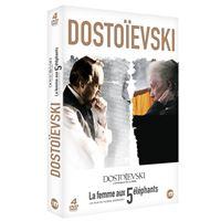 Coffret Dostoïevski L'intégrale de la série et La femme aux 5 éléphants DVD