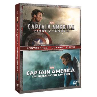Captain AmericaCaptain America : The First Avenger / Le Soldat de l'hiver Coffret DVD