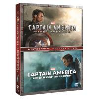 Captain America : The First Avenger / Le Soldat de l'hiver Coffret DVD