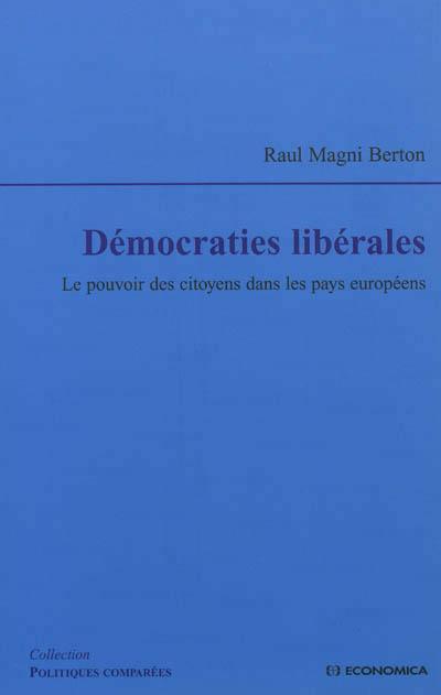 Démocraties libérales
