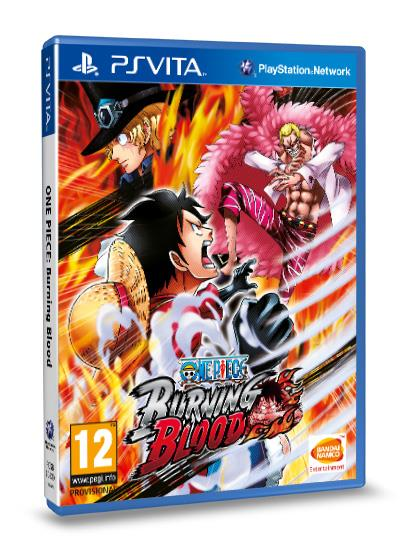 One Piece Burning Blood PS Vita