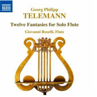12 Fantaisies pour flûte solo