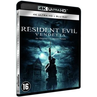 Resident Evil: Vendetta - Nl/Fr - Bluray 4K