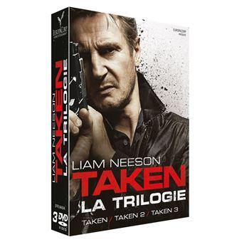 TakenCoffret Taken 1 à 3 DVD