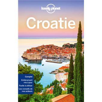 Carte Croatie Lonely Planet.Croatie 8ed