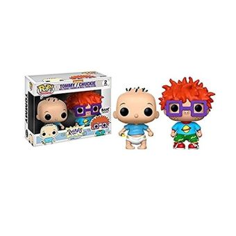 RUGRATS-BOBBLE HEAD POP-TOMMY AND CHUCKY 2-PACK
