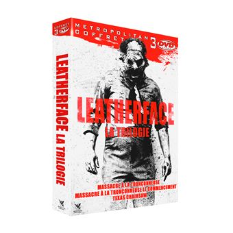 The Texas Chainsaw MassacreCoffret Leatherface La Trilogie DVD