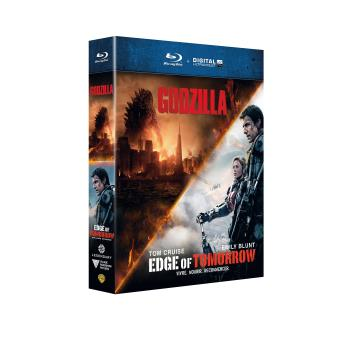 Godzilla, la trilogieCoffret Edge of tomorrow + Godzilla Blu-ray