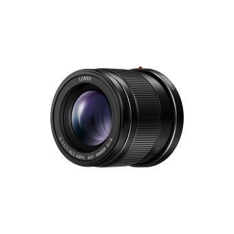 Objectif hybride Panasonic Lumix G 42,5mm f/1.7 noir