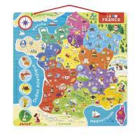 Puzzle France magnétique Ty 93 pièces