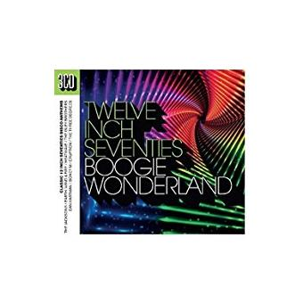 BOOGIE WONDERLAND TWELVE INCH SEVENTIES SERIES/3CD