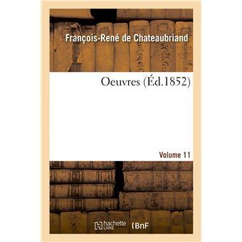 Oeuvres. Volume 11