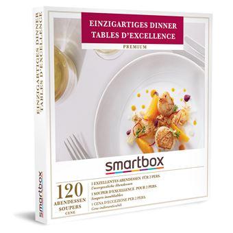 Coffret cadeau Smartbox Tables d'excellence