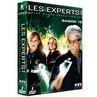Les Experts Las VegasCoffret intégral de la Saison 12 - DVD