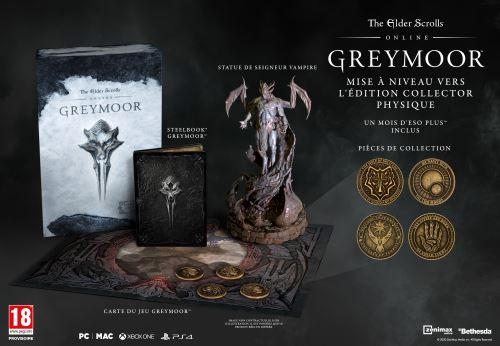 The Elder Scrolls Online : Greymoor Collector's Edition PS4