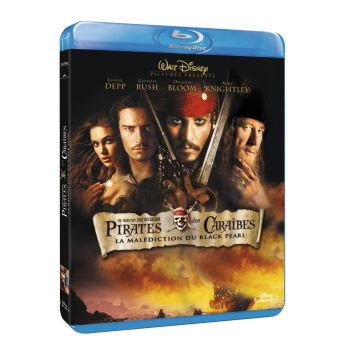 Pirate Des CaraïbesPirates des Caraïbes : La malédiction du Black Pearl Blu-ray