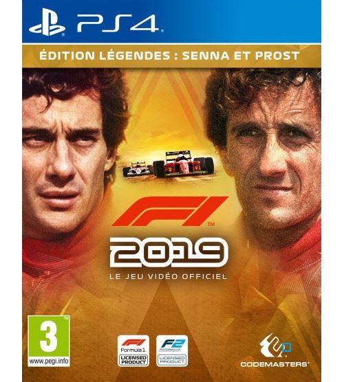 F1 2019 Edition Légendes PS4