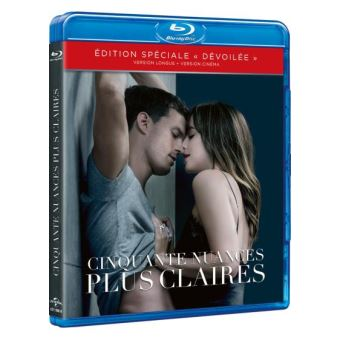 Fifty shadesCinquante nuances plus claires Blu-ray