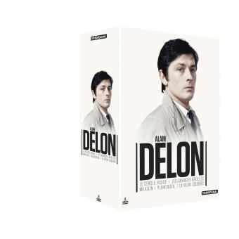 Coffret Alain Delon 5 films DVD
