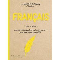 Cahiers de rattrapage - Français