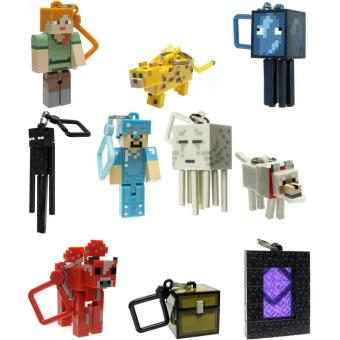 Porte cl s figurine minecraft porte clef achat prix for Porte and minecraft