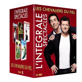 Coffret Les Chevaliers du Fiel L'intégrale spectacles DVD