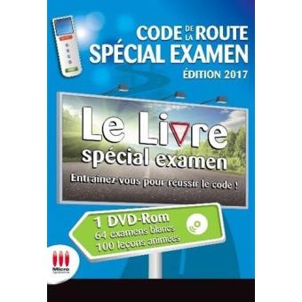 code de la route special examen ed 2017 livre avec 1 dvd edition 2017 livre cd avanquest. Black Bedroom Furniture Sets. Home Design Ideas