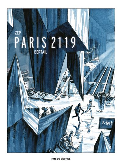 Paris 2119 grand format lavis