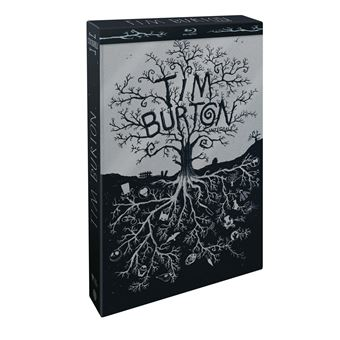 Coffret Tim Burton Blu-ray