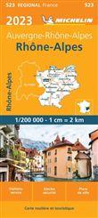 Carte Rhône-Alpes 2015 Michelin