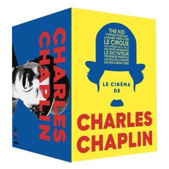 Coffret Cubes Charlie Chaplin 10 Films DVD