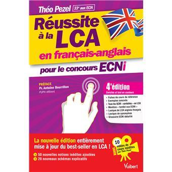 806aa68928e10 Réussite à la LCA en français-anglais pour le concours ECNi