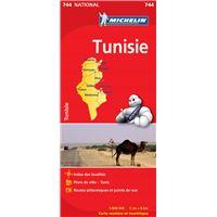 Carte Tunisie Michelin