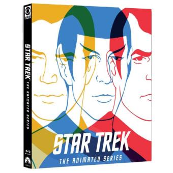 Star TrekStar Trek The Animated Series Coffret 4 Blu-ray