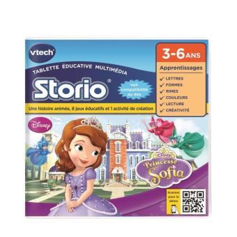 Jeu pour tablette HD Storio Vtech Princesse Sofia