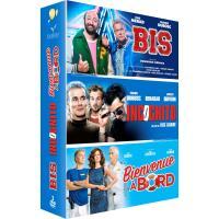 Coffret Bis + Incognito + Bienvenue à bord DVD