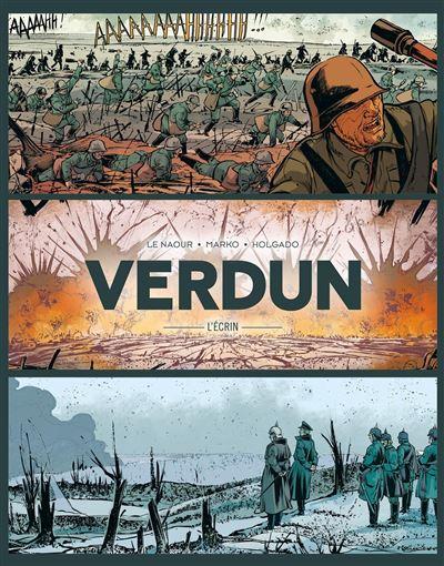 Verdun - Écrin Tome 01 à 03