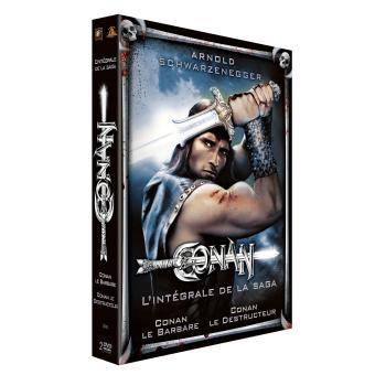 Coffret Conan le Barbare et Conan le destructeur DVD