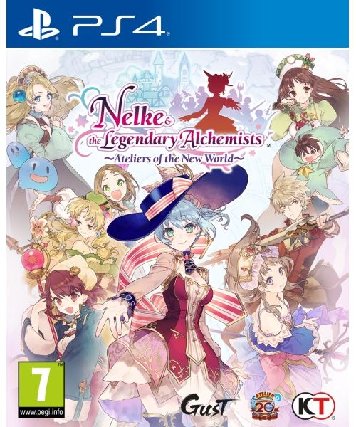 Nelke & the Legendary Alchemists Ateliers of the New World PS4