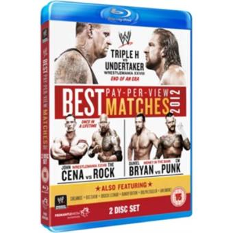 WWE Best of PPV Matches 2012 Blu-ray