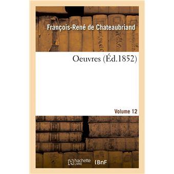 Oeuvres. Volume 12