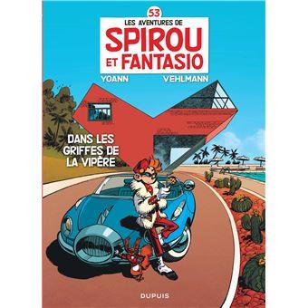 Spirou et FantasioSpirou et Fantasio - Dans les griffes de la Vipère (Opé été 2020)