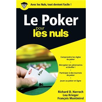Poker Texas Holdem Poche Pour les Nuls (French Edition)