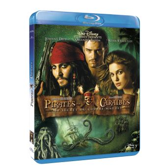 Pirate Des CaraïbesPirates des Caraïbes : Le Secret du coffre maudit Blu-ray